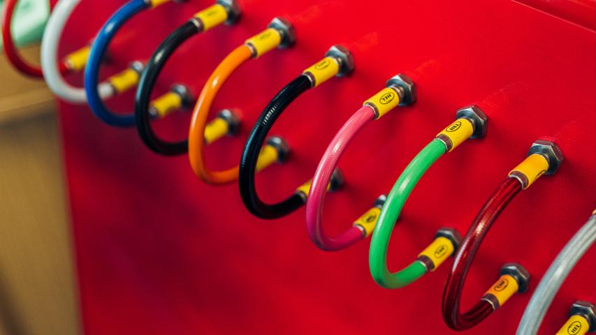 Multicolour Brake Lines 2